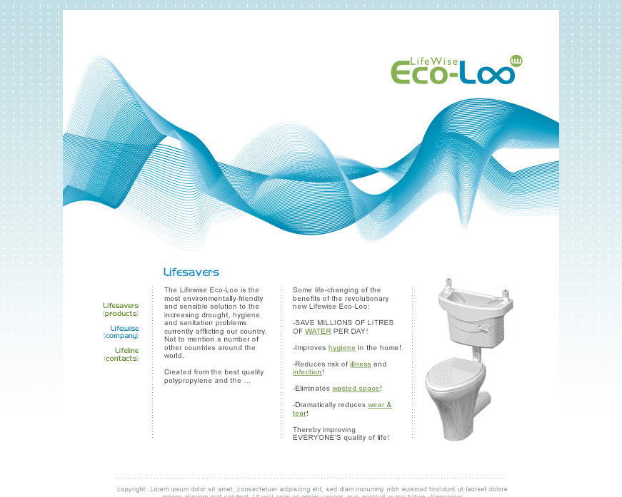 LifeWise Eco-Loo - Static Website