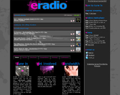 eradio - Dynamic Website