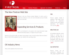Firetron Systems - Dynamic Website