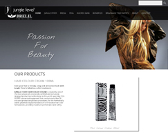 Jungle Fever - Dynamic Website